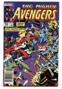 AVENGERS #246 Sersi appears-Eternals - comic book Marvel