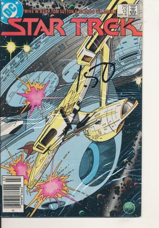 DC Star Trek #12 Copper Age Mar 85 Very Fine (8.0) (438J)