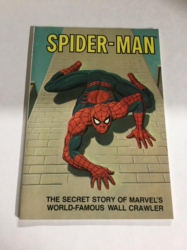 Spider-Man The Secret Story Of Marvels World Famous Wall Crawler Nm SC TPB
