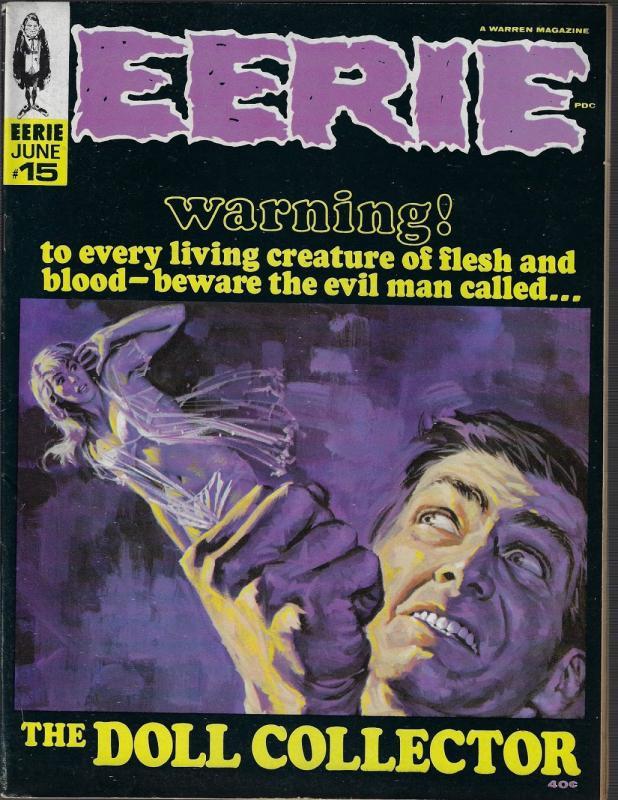 Eerie #15 (Warren, 1967) VF+