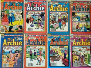 Modern archie comic lot 22 difference