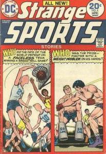 Strange Sports Stories (1973 series) #4, VF (Stock photo)