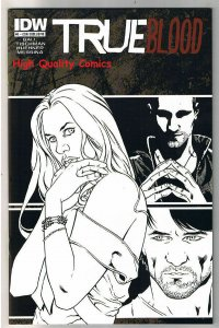 TRUE BLOOD #1, NM+, Vampire, Sookie, Con Exclusive, 2010, Variant, more in store