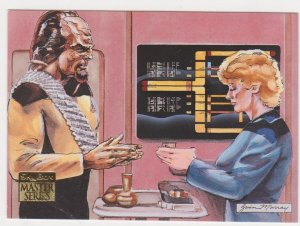 1993 Skybox Star Trek Master Series #84 Tea Time