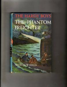 The Hardy Boys The Phantom Freighter # 26 Franklin W. Dixon Hardcover Book JL4