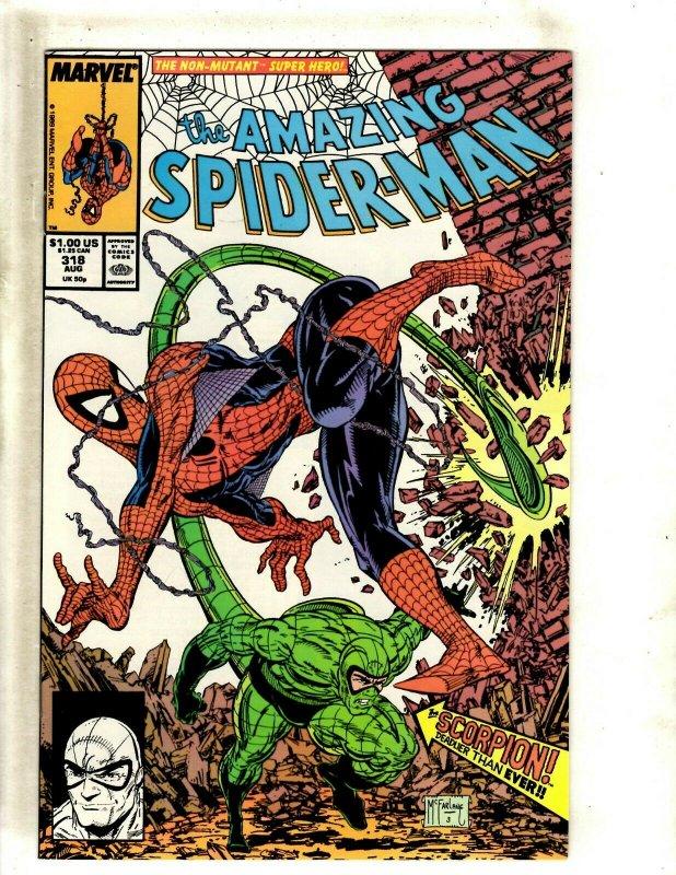 Amazing Spider-Man # 318 NM Marvel Comic Book McFarlane Venom Goblin Gwen BJ1