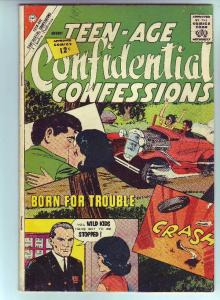 Teen-Age Confidential Confessions #13 (Aug-62) FN+ Mid-High-Grade