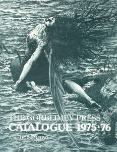 GORBLIMEY PRESS CATALOG 1975-1976   BARRY SMITH ART AND CAREER UPDATE--CONAN