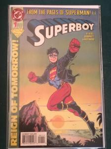 Superboy #1 Reign of Tomorrow