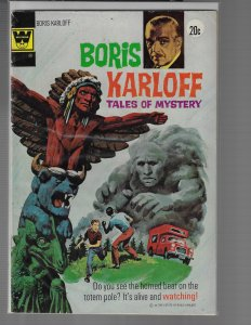 Boris Karloff: Tales of Mystery #50 (Gold Key, 1973)