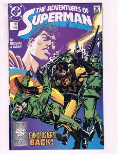 The Adventures Of Superman #446 VF DC Comics Comic Book Jurgens DE13