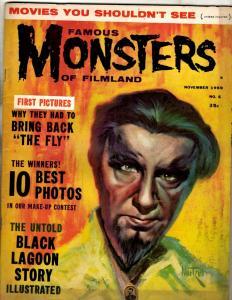 Famous Monsters Of Filmland # 5 VF- Warren Comic Book Magazine 1959 Vampires NE1