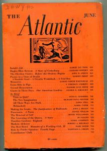 The Atlantic June 1936- Robert Frost- Gettysburg VG