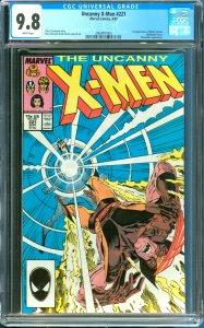 Uncanny  X-Men #221 CGC Graded 9.8 1st Appereance of Mister Sinister
