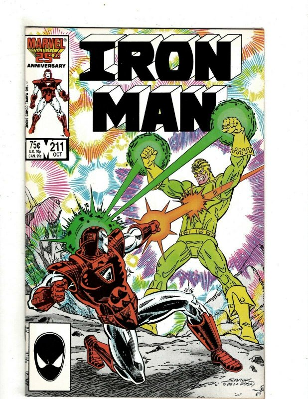 12 Iron Man Marvel Comics # 211 212 213 214 215 216 217 218 219 220 221 222 RB2