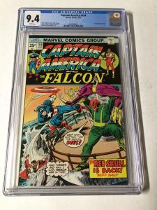 Captain America 184 Cgc 9.4 White Pages Red Skull Cameo