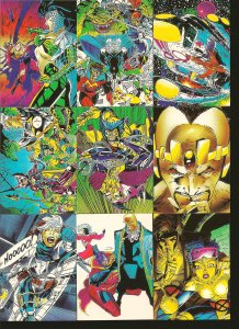 X-Men Marvel Comic Images 1991 Lot of 30 Trading Cards Partial Incomplete set