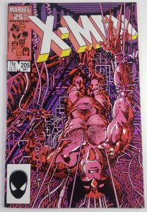 The Uncanny X-Men #205 - Barry Windsor-Smith Cover - NM - Marvel Comics 1986