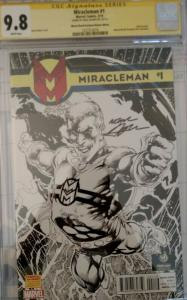 Miracleman  #1 (Mar 14, Marvel) CGC 9.8 signed by Neil Adams