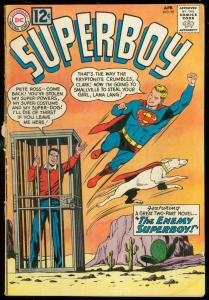SUPERBOY COMICS #96 1962-DC COMICS-CACTUS COVER JAIL G