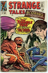 Strange Tales 129 Feb 1965 GD+ (2.5)