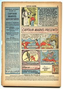 Captain Marvel Adventures #20 bargain comic book 1943 Hitler-Billy Batson