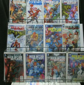 Red Hood Modern Age Lot of 29Diff from 2009-16 Reborn to Rebirth! Starfire ++