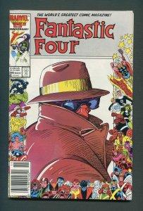 Fantastic Four #296 / 9.0 VFN/NM / Newsstand / November 1986