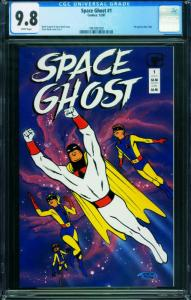 SPACE GHOST #1 1987-CGC 9.8 -ALEX TOTH 1997007001
