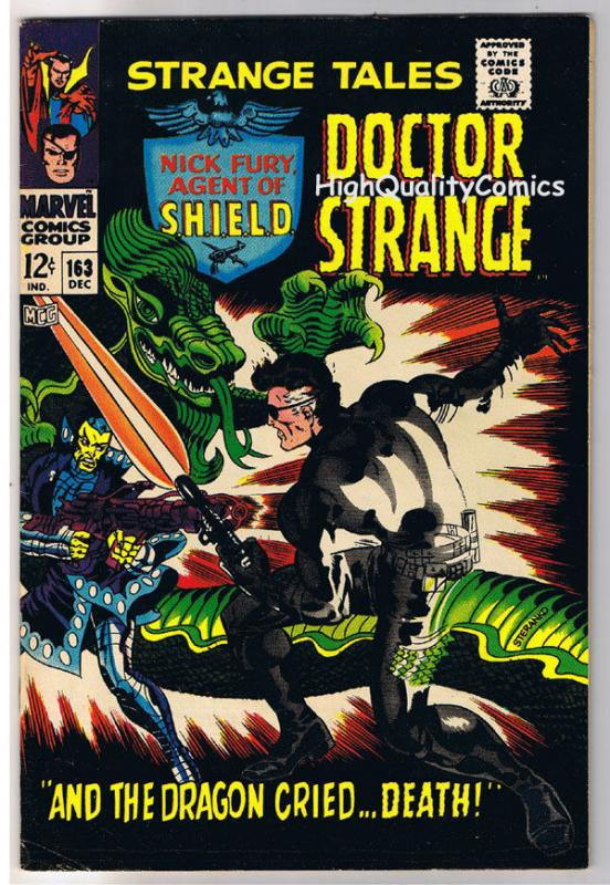 STRANGE TALES 163, VF, Jim Steranko, Nick Fury, Dr, 1951, more in store