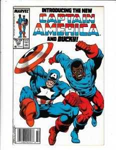 THE NEW CAPTAIN AMERICA AND BUCKY# 334  FN  THE US AGENT AS CAP