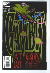 Gambit (1993 series) #1, VF+ (Actual scan)