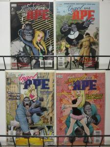 ANGEL & THE APE 1-4  HOWARD CHAYKIN's complete series!