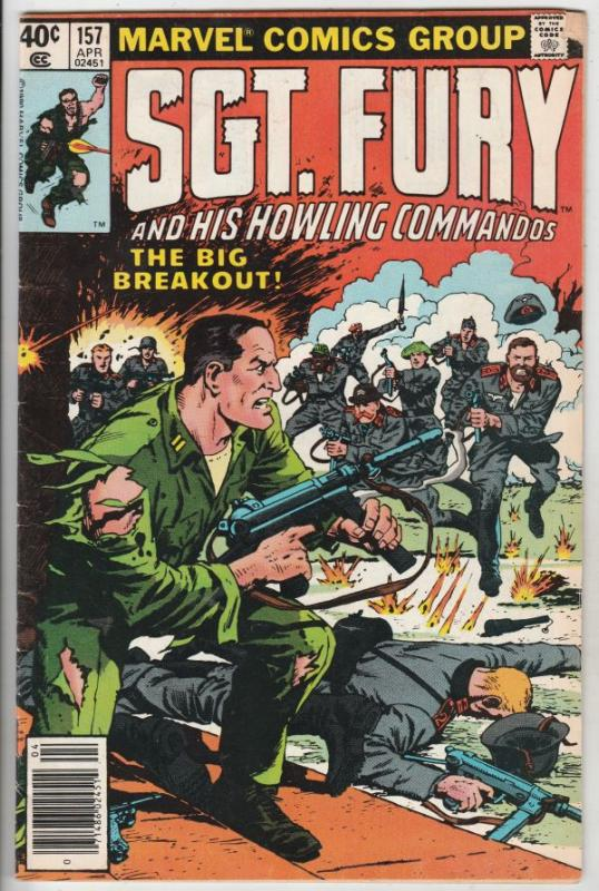 Sgt. Fury and His Howling Commandos #157 (Apr-79) FN- Mid-Grade Sgt. Fury, Ho...