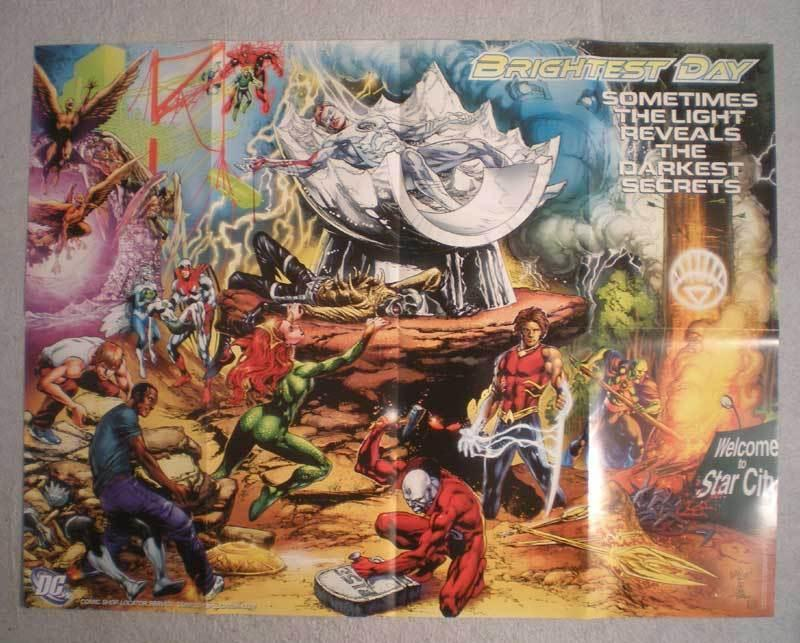 BRIGHTEST DAY Promo Poster, 29 x 22, 2010, Unused, more in our store