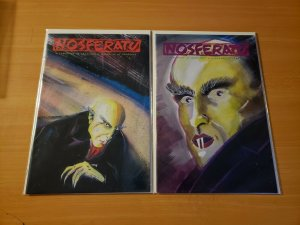Nosferatu: Symphony of Shadows 1-2 Complete Run! ~ NEAR MINT NM ~ 1991 Tome
