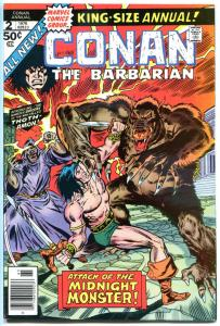 CONAN the BARBARIAN Annual #2 VF+, 3 VF/NM, Robert Howard, more in store, 2 iss