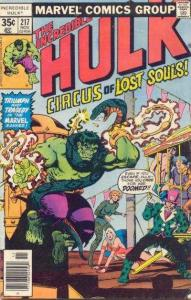 Incredible Hulk (1968 series) #217, VF+ (Stock photo)