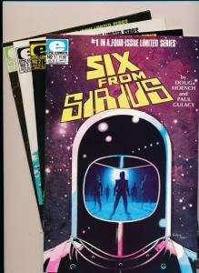 Epic Comics Set of 4-SIX FROM SIRIUS #1-4 each signed by artist! VF/NM (HX926)