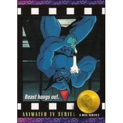 1993 Skybox X-MEN Series 2 BEAST HANGS OUT #96 Ex