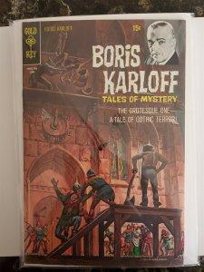 Boris Karloff #30 Gold Key (70) VG/FN