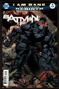 Batman #18 Rebirth (May 2017, DC) 0 9.2 NM-