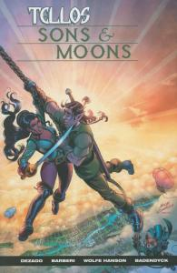 Tellos: Sons & Moons #1 VF/NM; Image | save on shipping - details inside