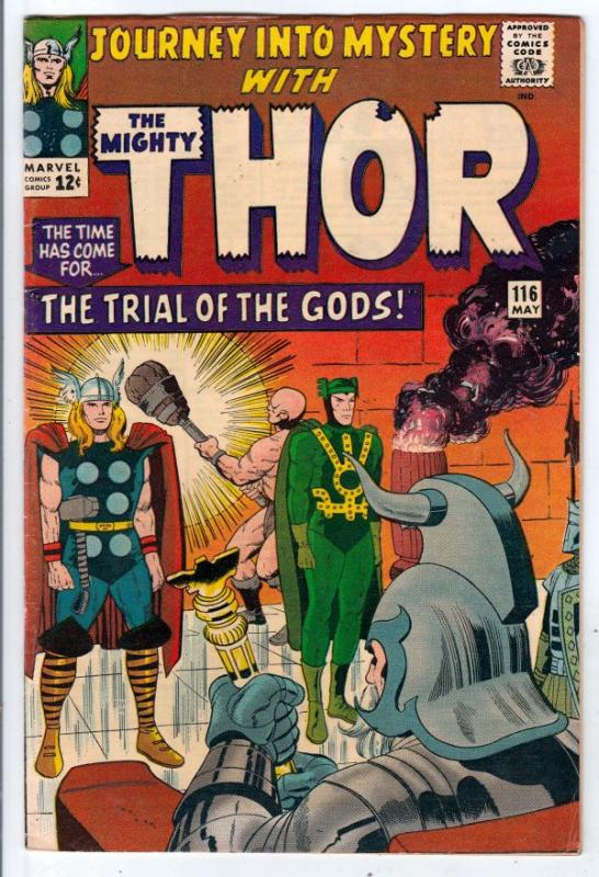 Journey into Mystery #116 (May-65) FN/VF Mid-High-Grade Thor