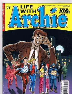 Life With Archie # 21 FN/VF Archie Magazine Comic Book Kennedy Cover Art HOT S73