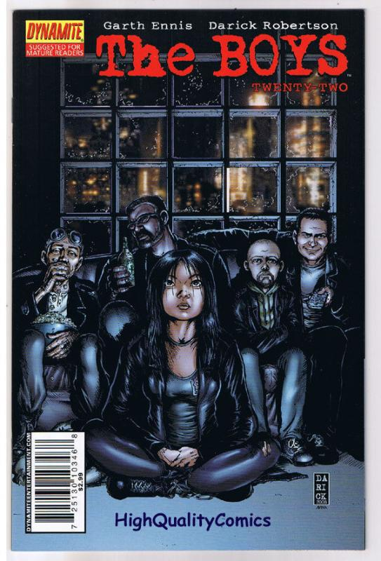 THE BOYS #22, Garth Ennis, Darick Robertson, 2006, NM+