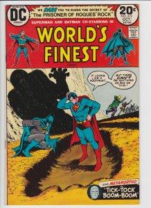 World's Finest #219 (Oct  1973) 7.5 VF- DC Batman