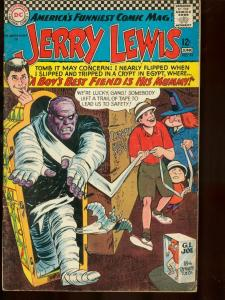 ADVENTURES OF JERRY LEWIS #94 1966 DC MUMMY COVER EGYPT VG
