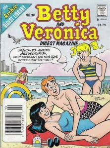 Betty and Veronica Digest Magazine #90 VF/NM; Archie | save on shipping - detail