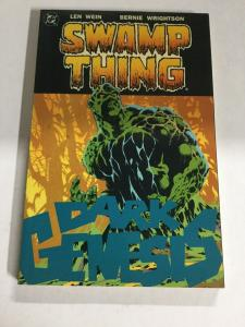 Swamp Thing Dark Genesis Nm Near Mint DC Comics SC TPB